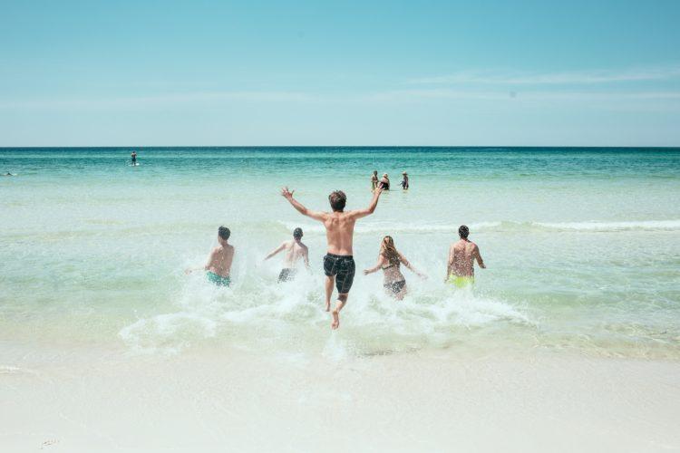 correre in spiaggia | Studio Miggiano